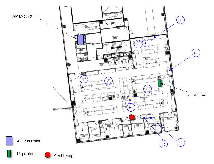 Sample Annotated Floor Plan